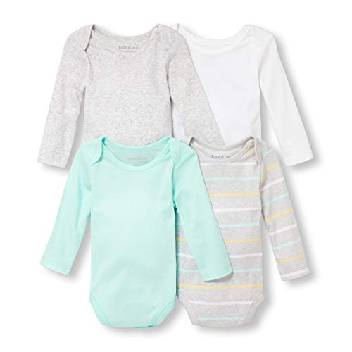 The Children's Place Baby Solid Long Sleeve Layette Set