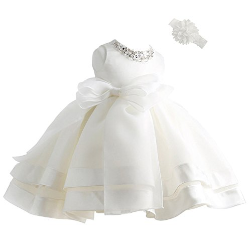Coozy Baby Girl Dress Christening Baptism Gowns Flower