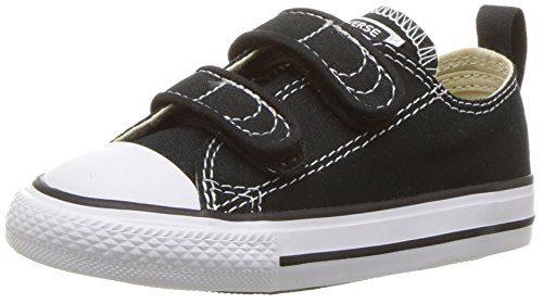Converse Kids Unisex Chuck Taylor 2V Ox Black Sneaker