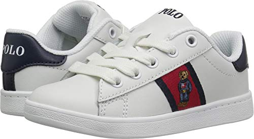 Polo Ralph Lauren Kids Boys' QUILTON Bear Sneaker