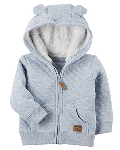 Carter's Baby Boys' 3M-24M Hooded Quilted Jacket 3 Months