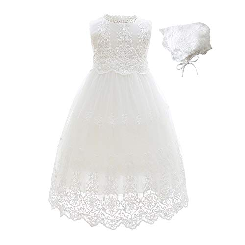 52d0bb7065149 Slowera Baby Girls White Lace Dress Christening Baptism Clout Wear Fashion  for Womens, Fashion for Mens, Fashion for Kids