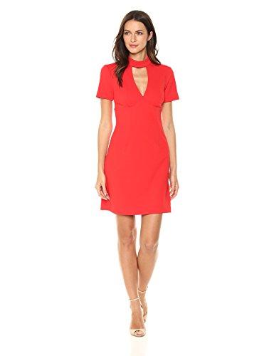 Trina Trina Turk Women's Camari Dress, Pagoda red
