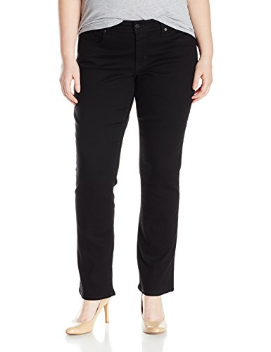 Signature by Levi Strauss & Co Women's Plus-Size Modern Straight Jeans