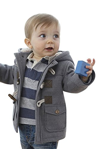Ekaliy Winter Infant Baby Boy Fleece Coats Jackets