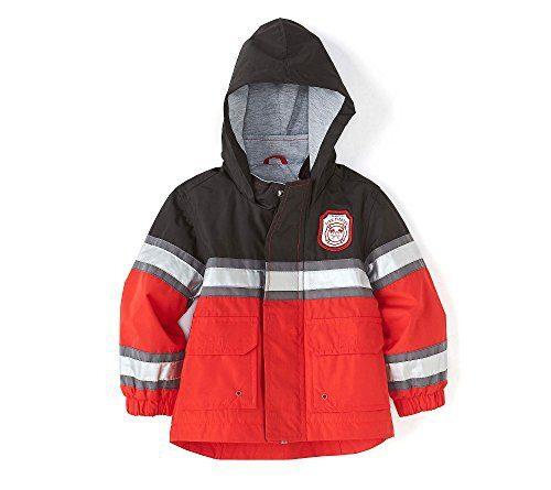 Carter's Boys' Fireman Two-Tone Rain Slicker 12 Months