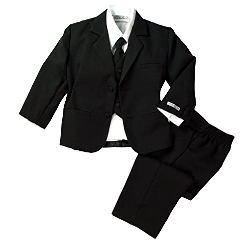 Spring Notion Baby Boys' Formal Black Dress Suit Set 18M (Large)