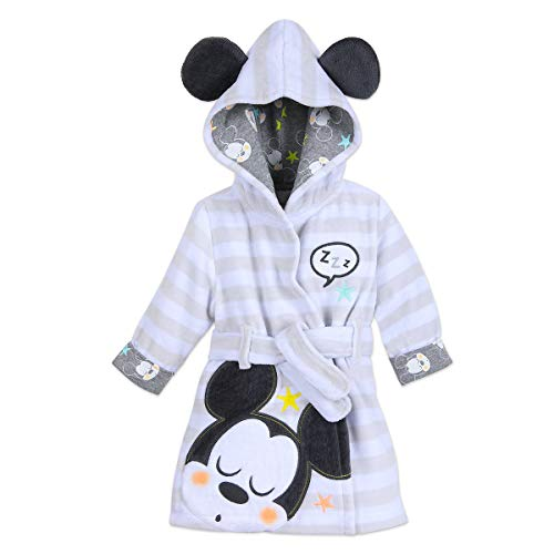 Disney Mickey Mouse Hooded Bath Robe for Baby Multi