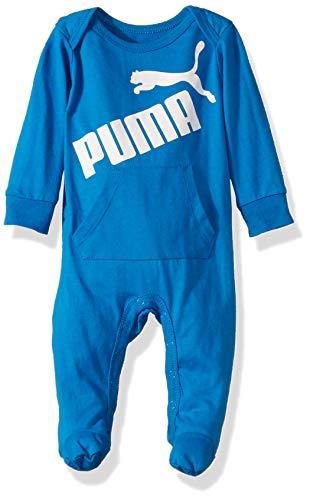 PUMA Baby Boys' Coverall, Indigo Bunting 3-6 Months