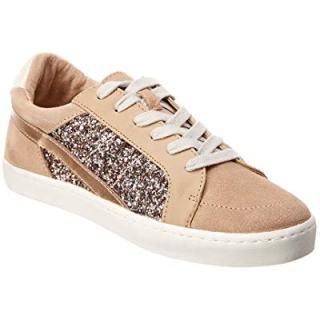 Dolce Vita Zoom Suede Sneaker, 8.5, Beige