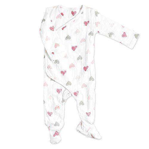 aden + anais Baby Long Sleeve Kimono One-Piece