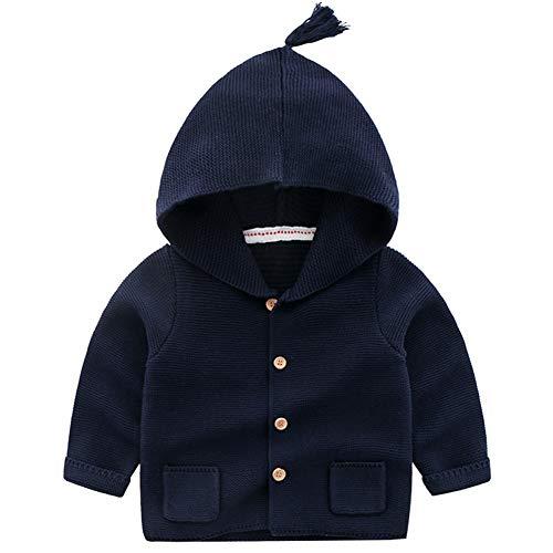 Happy childhood Baby Boys Hoodie Pocket Cardigan Sweaters