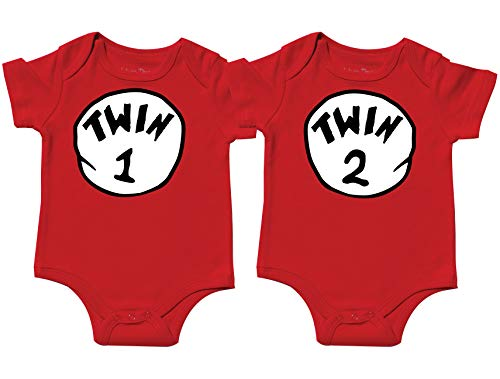 Nursery Decals and More Twin Baby Girls Onesies