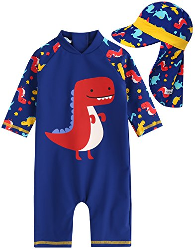 Vaenait baby Little Boys Swimsuit Rashguard Swimwear