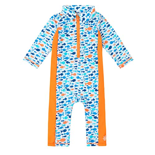 UV SKINZ UPF 50+ Baby Boys Sun & Swim Play Suit
