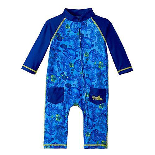 UV Skinz UPF 50+ Baby Boys Sun & Swim Suit - Ocean Blue