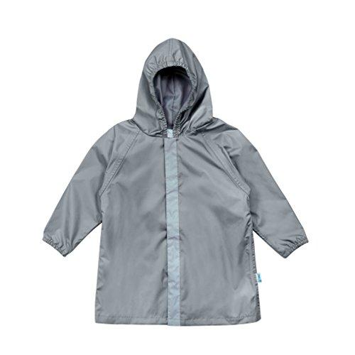 i play. Baby Lightweight Raincoat, Gray
