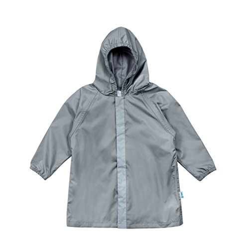 i play. Baby Lightweight Raincoat, Gray