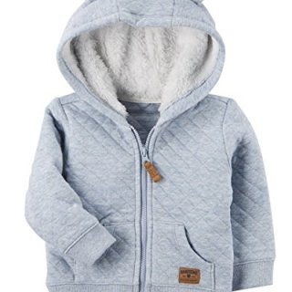 Carter's Baby Boys' 3M-24M Hooded Quilted Jacket 12 Months