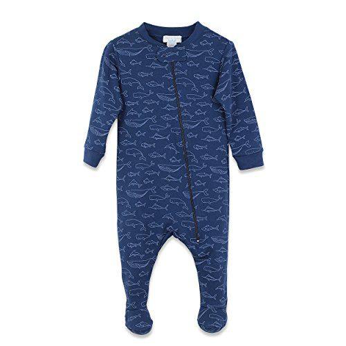 Feather Baby Boys Clothes Pima Cotton Long Sleeve Zipper