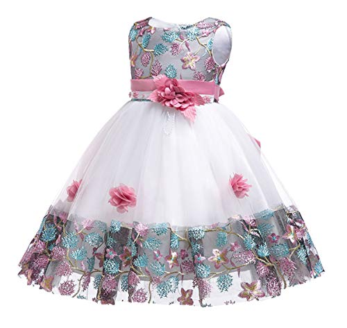 Flower Girls Dresses Child Easter Pageant Party Baby