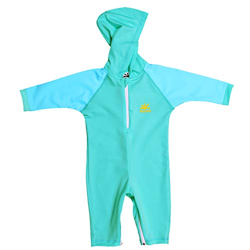 Nozone Kailua Sun Protective Hooded Baby Swimsuit