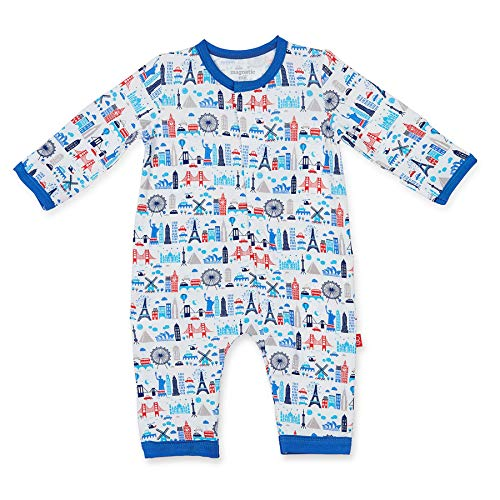 Magnificent Baby Infant Magnetic Modal Coverall