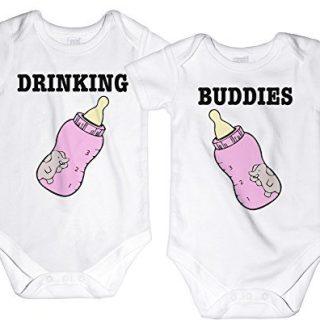 CarefreeTees Drinking Buddies Twin Babies