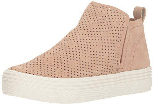 Dolce Vita Women's Tate PERF Sneaker, Sand Nubuck