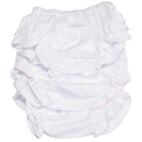 Kissy Kissy - Basic Diaper Cover 3 Set - White-9mos