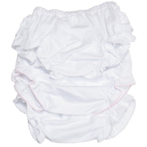 Kissy Kissy - Basic Diaper Cover 3 Set - White-9mos