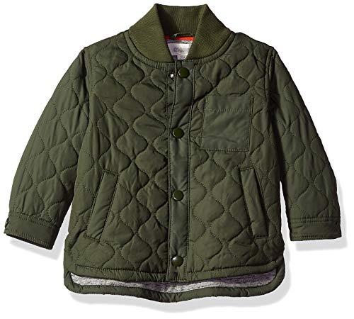 Gymboree Baby Boys Field Jacket, Olive Pockets 6-12 Mo
