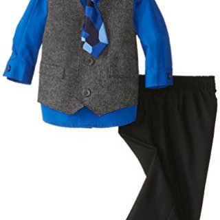 Nautica Boys' 4-Piece Formal Dresswear Vest Set