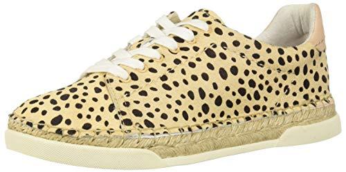 Dolce Vita Women's MADOX Sneaker, Leopard Calf Hair