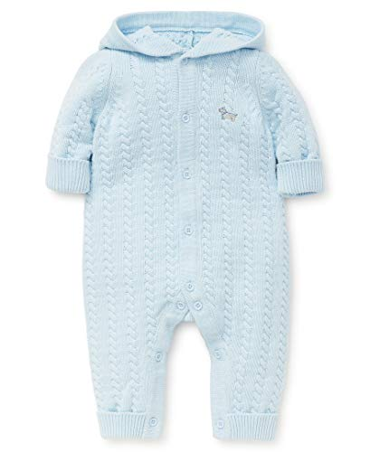 Little Me Baby Boys Sweater Coveralls, Omphalodes 9 Months