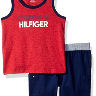 Tommy Hilfiger Baby Boys 2 Pieces Tank Shorts Set