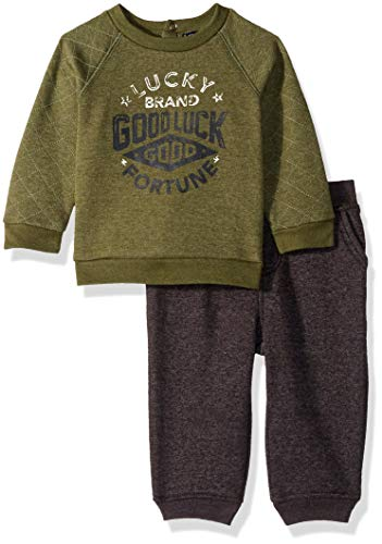 Lucky Sets Baby Boys 2 Pieces Pullover Pant