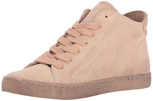 Dolce Vita Women's Zane Fashion Sneaker Blush Suede