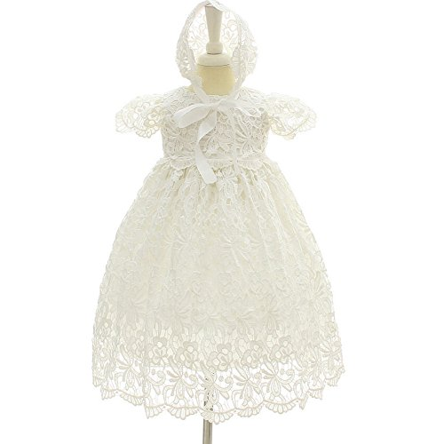 a9930be0259b1 Moon Kitty Baby Girl Special Occasion Dress 2PCS Christening Baptism ...
