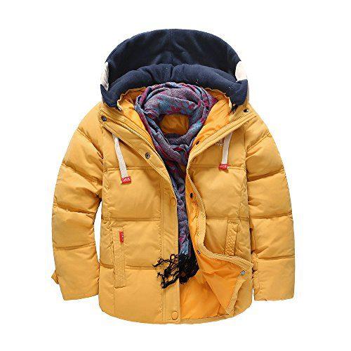 VEKDONE Baby Girl Boy Anorak Jacket Hood Fleece