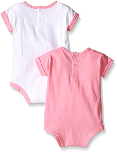 5a2cbb228 Adidas Baby Girls' 2 Pack Bodysuits, Assorted, 12 Months Clout Wear ...