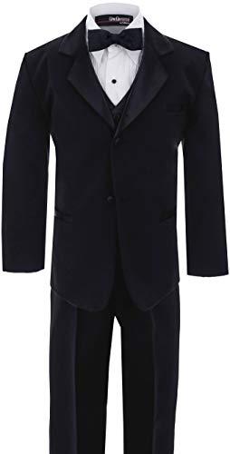 Baby Boy's Usher Tuxedo Suit No Tail