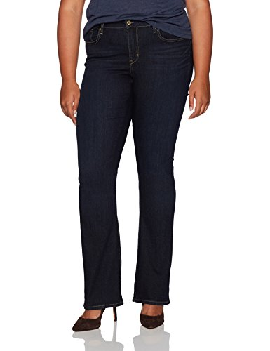 Signature by Levi Strauss & Co Women's Plus Size Modern Bootcut Jeans