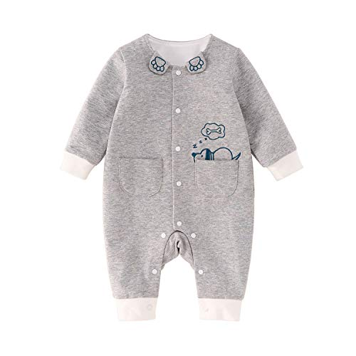 pureborn Baby Romper Unisex Newborn Infant Cotton Cartoon