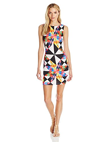 Mara Hoffman Women's Fractals Cut Out Back Mini Dress