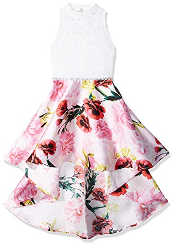 Speechless Girls' Big Party Dress with Dramatic High-Low Hemline