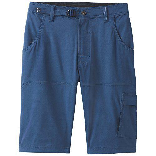prAna Stretch Zion Shorts, Equinox Blue