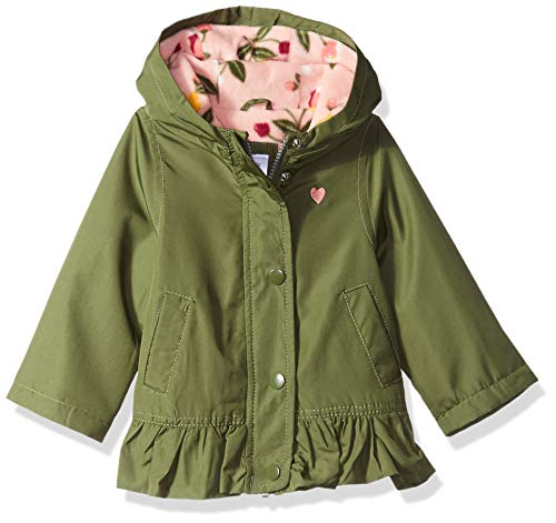 Carter's Baby Girls Mid-Weight Flounce Hem Jacket