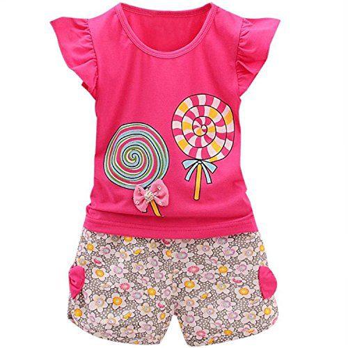 Adorable Cute Toddler Baby Girl Clothes Set Long Sleeve