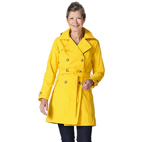 Happy Rainy Days Women's Classic Trench Coat